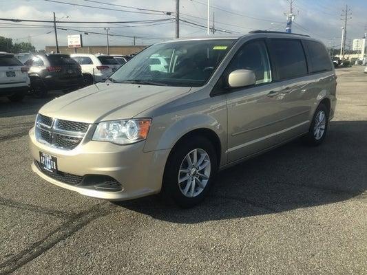 2016 Dodge Grand Caravan Sxt Hartville Oh Canton Youngstown Warren Ohio 2c4rdgcg8gr313309